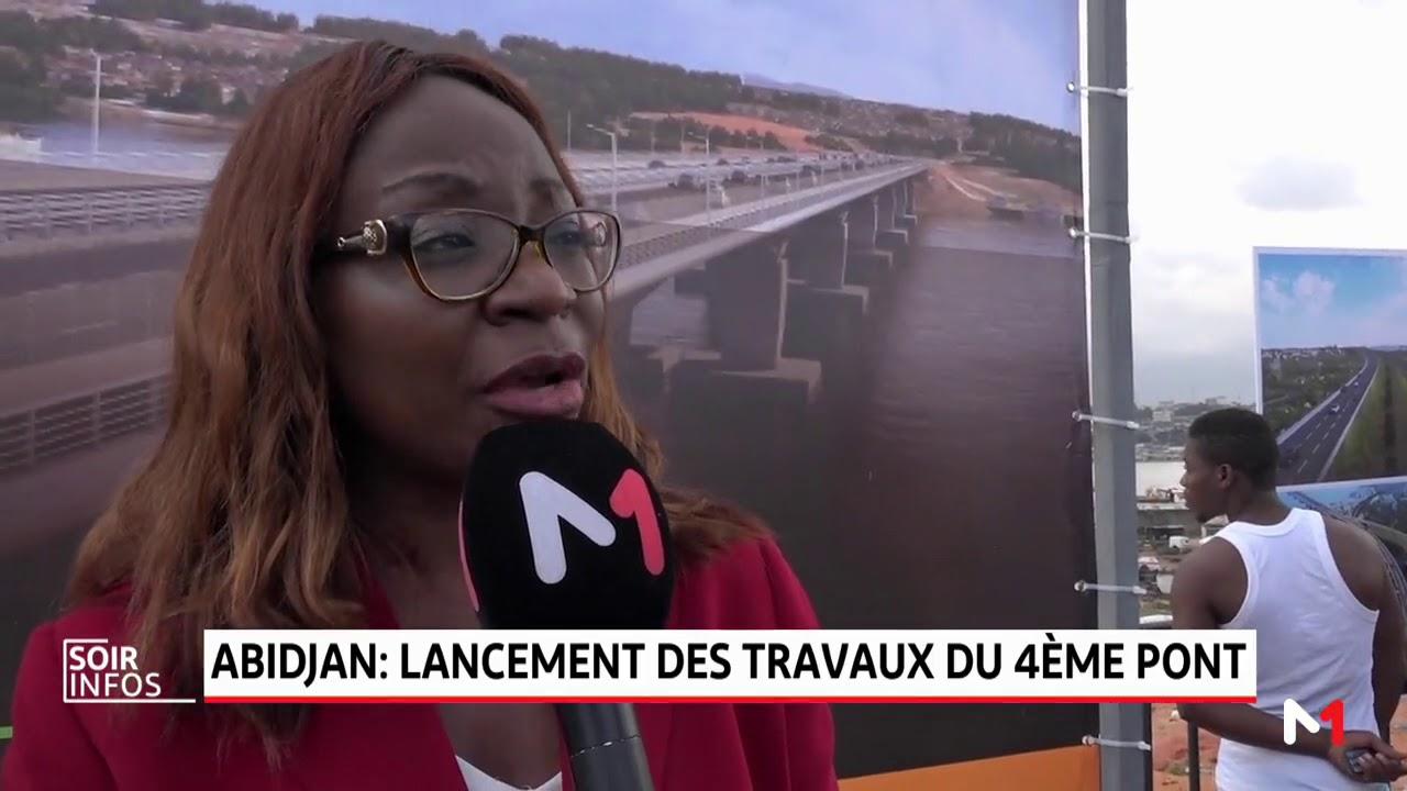 Abidjan lancement des travaux du 4ème pont