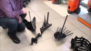 Glebogryzarka MH 197 RK prezentacja urządzenia i przystawek