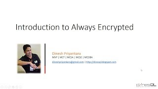 Introduction to SQL Server Always Encrypted