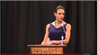 Paula Broadwell Speaks at the University of Denver