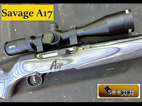 Savage A17 17 HMR Semi Auto Rifle Review
