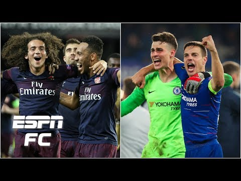 Arsenal and Chelsea set up all-English Europa League final | Europa League