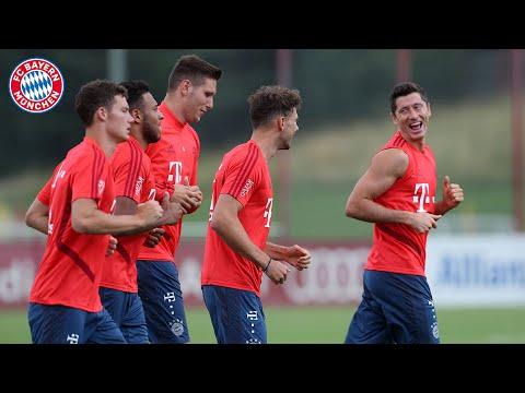 FC Bayern München Training in Full Length!