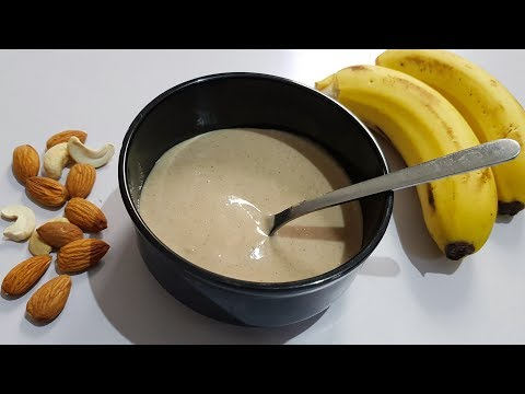 Banana Baby Food || Healthy & Weight Gaining  || for 10+ months babies