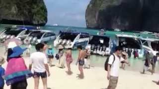 Остров Пхи-Пхи. Тайланд. Фильм Пляж снимали на нём!