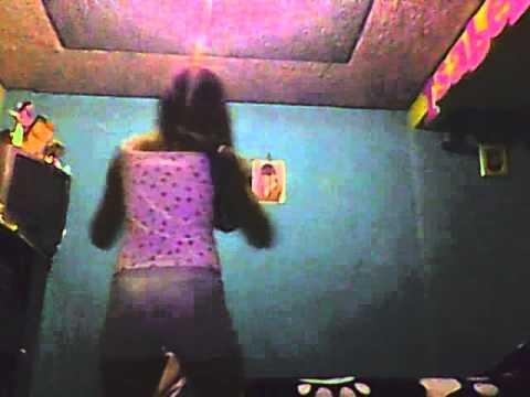 kelly perez bailando el calimenio solo yop y nadiemas qe yo