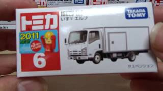 トミカ いすゞ エルフ 開封 Tomica Isuzu Elf