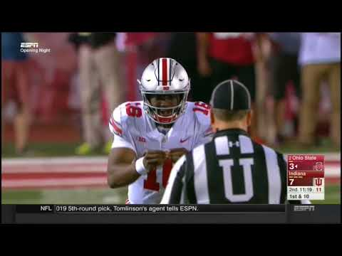 2017 - Ohio State Buckeyes at Indiana Hoosiers in 40 Minutes