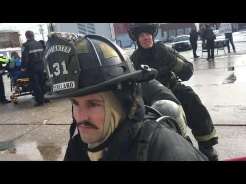 2016 Cleveland Police Fire EMS #MannequinChallenge