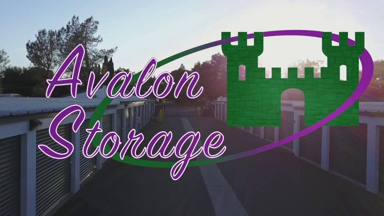 avalon storage self storage mini storage boat storage rv storage in redding ca youtube. Black Bedroom Furniture Sets. Home Design Ideas