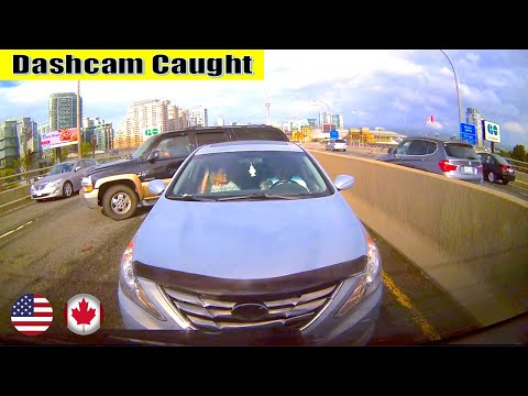 Ultimate North American Cars Driving Fails Compilation - 188 [Dash Cam Caught Video]