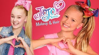 JoJo Siwa Makeup and Hair Tutorial!