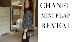 7657ccdcb96d30 Chanel Square MINI Classic Flap Unboxing//Reveal ...