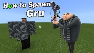 How to Spawn GRU | Minecraft PE
