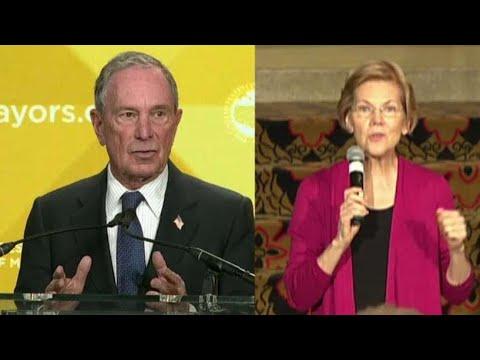 Bloomberg slams Elizabeth Warren's wealth tax