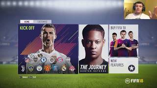 PLAYING FIFA 18 ON PC WITH A KEYBOARD+MOUSE CHALLENGE!
