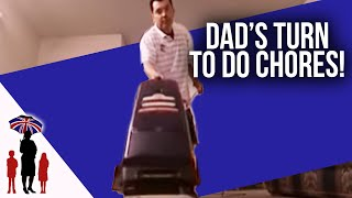 Mom Gets A Break While Dad Does House Chores | Supernanny