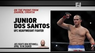 "UFC Zagreb: Junior Dos Santos on Ben Rothwell - ""It Will Be The Win I Need Right Now"""