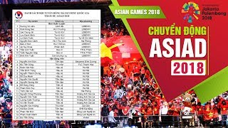 DANH SÁCH CHÍNH THỨC 20 CẦU THỦ THAM DỰ ASIAD CỦA U23 VIỆT NAM | VFF Channel