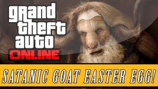 "GTA 5: Online | Secret Satanic Goat ""Baphomet"" Easter Egg (GTA V)"