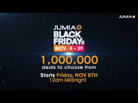 Jumia Black Friday 2019 November 8th 29th 2019 Jumia Nigeria Youtube