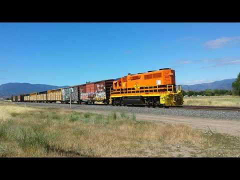 Central Oregon & Pacific Railroad at Montague, CA