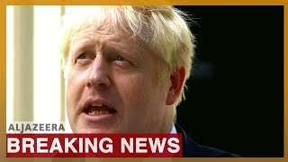 Boris Johnson addresses the nation as new UK prime minister