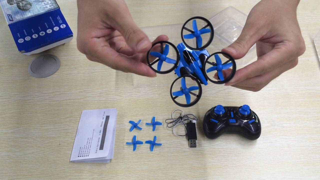 JJRC H36 6-axis Gyro Headless Mode Mini RC Quadcopter RTF 2.4GHz