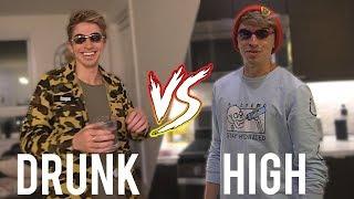 ME DRUNK vs ME HIGH