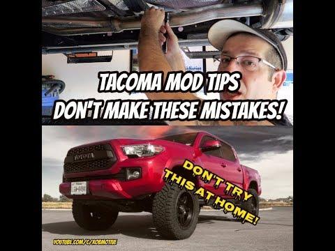 tacoma-modding-tips-|-don't-fry-your-tacoma