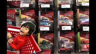 NEW 2018 Disney Cars 3 Diecast CASE Toy Hunt at Target NEXT GEN SHINY WAX METALLIC BOBBY SWIFT