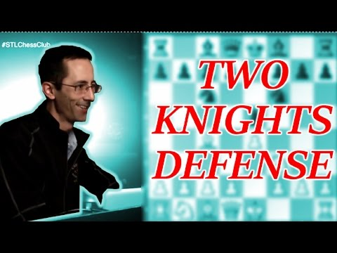 Two Knights Defense with 4. Ng5 | Chess Openings Explained