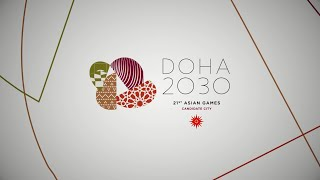 Doha 2030 Asian Games Bid Committee launches campaign slogan and logo