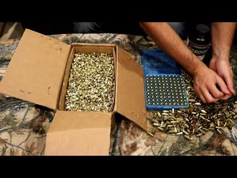 Reloading 9mm for 20 cents a round!!