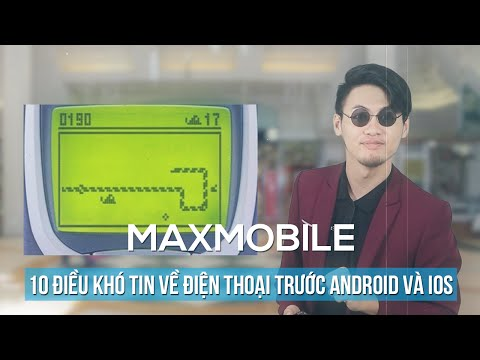 Top 10 điều khó tin về điện thoại di động trước thời kỳ của Android và iOS [Phần 1]