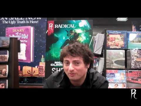 Nick Sagan Talks about Shrapnel at Barnes & Noble