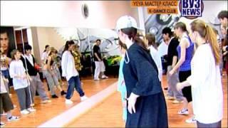 K-DANCE.Yeya (Sweden) workshop Мастер-класс. Сюжет MTV