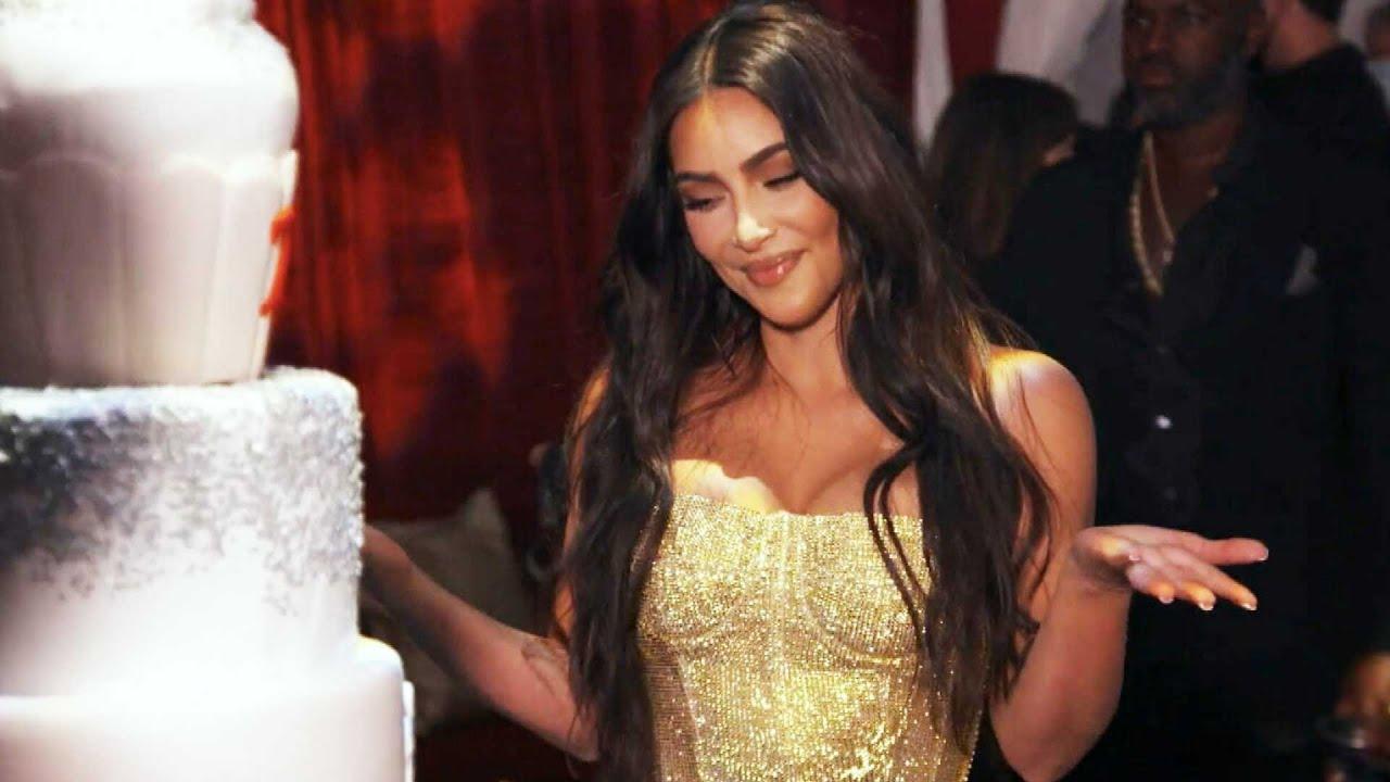 Kim Kardashian's Sisters Perform Choreographed Dance at Her EPIC 40th Birthday Bash