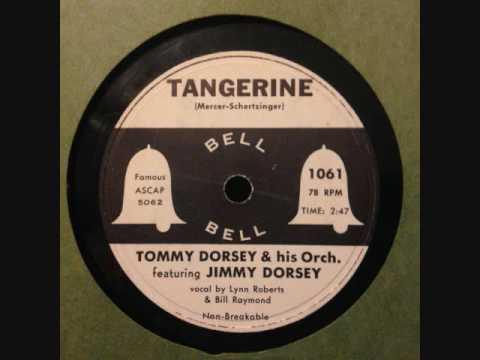 Tommy Dorsey & Orchestra Ft. Jimmy Dorsey - Tangerine (1954)