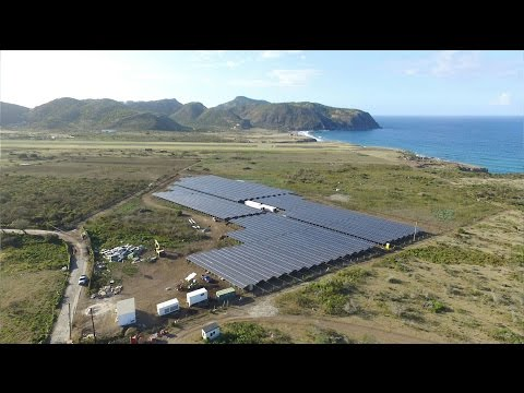 Flagship Project in the Caribbean: PV Hybrid System on the Island of St. Eustatius