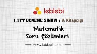 Gambar cover TÜRKİYE GENELİ TYT DENEME SINAVI - 1   / MATEMATİK / A KİTAPÇIĞI