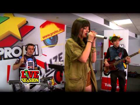 Alexandra Stan - Thanks For Leaving @ ProFM LIVE Session