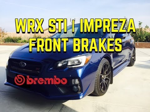 2008-2017 SUBARU WRX STI FRONT /& REAR BREMBO BRAKE CALIPERS NEON YELLOW//GREEN