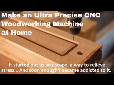 CNC | DIY ROUTER | DIY ROUTER MACHINE HOME BUILD