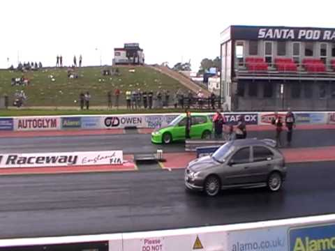 SRMC Street Racers Green EG Honda Civic Santa Pod USC 2012- 3