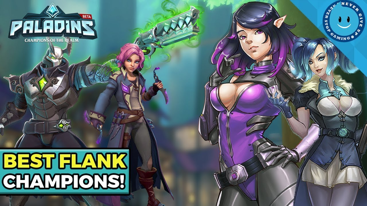 Paladins Best Champions 2021 Top 5 Best Flanks In Paladins! (Competitive Tier List)   YouTube