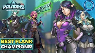 Top 5 Best Flanks In Paladins! (Competitive Tier List)