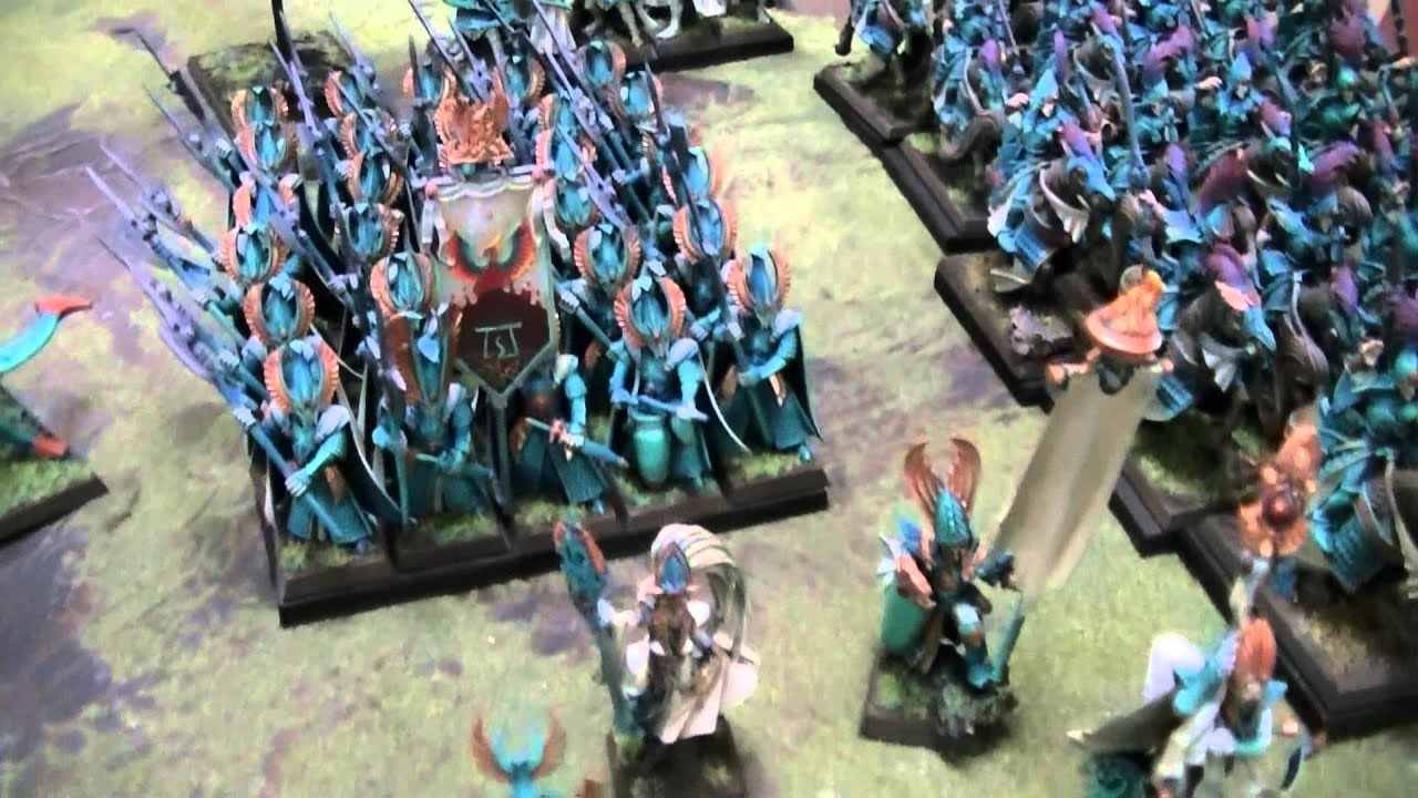 High Elves Miniatures for the Warhammer Fantasy War Game
