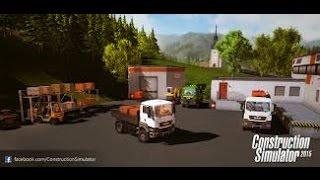 Construction Simulator 2015 MP #5 Pierwsze kopanie oraz zbagowany Miki.