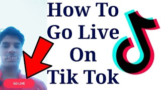 How to Go Live on Tik Tok | Musically New Updated Version go Live Without app and 1000 Fans
